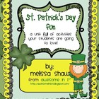St. Patrick&#039;s Day Fun Unit