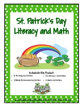 St. Patrick's Day Fun with Literacy and Math