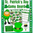 St. Patrick's Day Game Board and Discussion Activity (+Ans