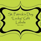 St. Patrick's Day Gift Treat Labels
