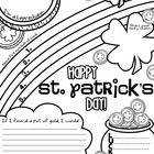 St. Patrick's Day Graphic Organizer Freebie