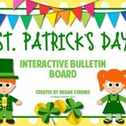 St. Patrick's Day Interactive Bulletin Board