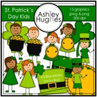 St. Patrick&#039;s Day Kids {Graphics for Commercial Use}