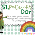 "St. Patrick's Day ""L is for Luck"" Unit"