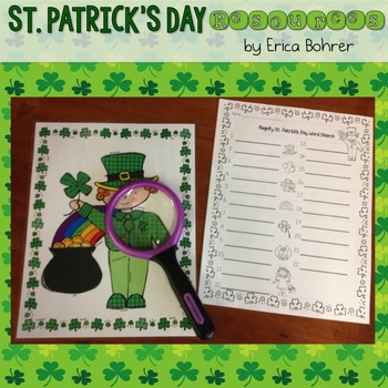 St. Patrick's Day LepreCommon Core Activities