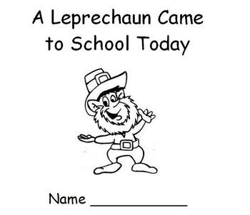 St. Patrick's Day - Leprechaun Emergent Reader