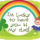 St. Patrick's Day Leprechaun Gift Labels