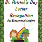 St. Patrick's Day Letter Recognition Card Sets