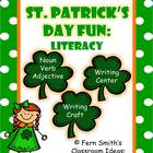 St. Patrick's Day Literacy Centers and Literacy Lessons