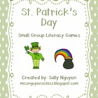 St. Patrick's Day Literacy Games