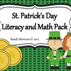 St. Patrick's Day {Literacy and Math Pack}