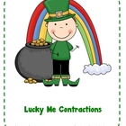 St. Patricks Day: Lucky Me Contractions