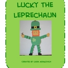 St. Patricks Day: Lucky the Leprechaun Craft Activity