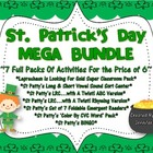 St. Patrick's Day MEGA BUNDLE!  7 Activity Packs Bundled T