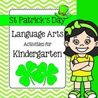 St Patrick's Day March Language Arts Unit
