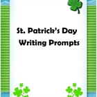 St. Patrick's Day - March Writing Prompts