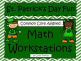 St. Patrick's Day Math Activities CCSS