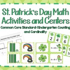 St. Patrick's Day Math Activities and Centers