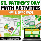 St. Patrick&#039;s Day Math Centers: Fractions {Common Core Aligned}