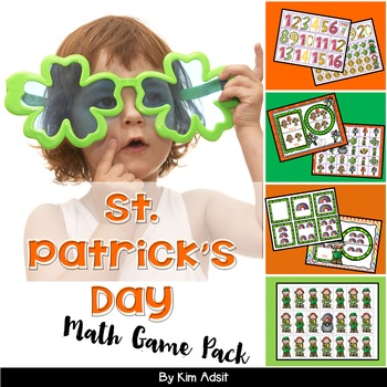 St Patricks Day Math Game Pack