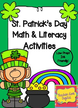 St. Patrick's Day Math & Literacy Activities