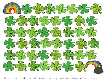 St. Patrick's Day Math & Literacy Centers & Printables Unit