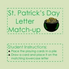 St. Patrick's Day Math & Literacy File Folder Games