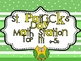 "St Patrick's Day Math Station ""Top It! 0-50"""