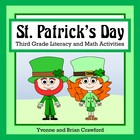 St. Patrick's Day Math and Literacy Activities Third Grade