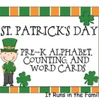 St. Patrick's Day: Math and Literacy Activities for Pre-K