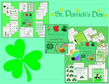 St. Patrick's Day Math and Literacy Centers & Activities