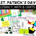 St. Patrick&#039;s Day Math and Literacy Fun!