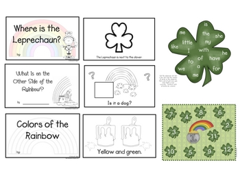 St. Patrick's Day Math and Literacy