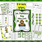 St. Patrick&#039;s Day Mini-Unit