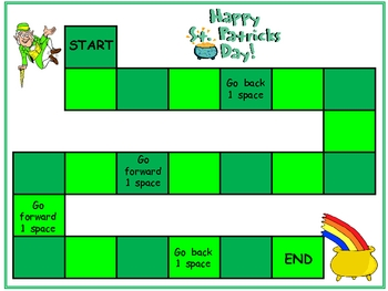 St Patrick's Day Multiplication Games- All Facts from 0 x