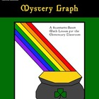St. Patricks Day Mystery Graph - Pot O&#039; Gold! Coordinate Graphing