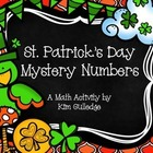 St. Patrick's Day Mystery Numbers - Math Problem Solving