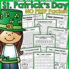 St. Patrick's Day NO PREP Packet (1st Grade)