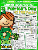 St. Patrick's Day NO PREP Packet (Kindergarten)