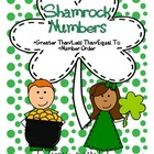 St. Patrick's Day Number Ordering and Greater than/Less than