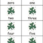 St. Patrick's Day Numbers: 0-50 (numbers & words flashcard