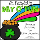 St. Patrick's Day O' Fun! {Literacy Activities for Little