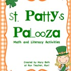 St. Patrick&#039;s Day Palooza: Math and Literacy Activities