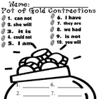 St. Patrick's Day: Pot of Gold Contractions