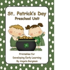 St. Patrick's Day - Preschool Unit