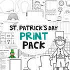 St Patrick's Day Print Pack - A Collection of Easy to Prep