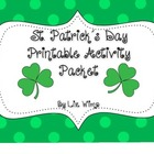 St. Patrick's Day Printable Activity Packet