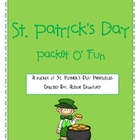 St. Patrick's Day Printable Packet