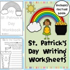 St. Patrick's Day Reading and Writing Worksheets - 36 pages
