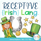 St. Patrick&#039;s Day Receptive Language Packet